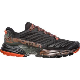 La Sportiva Akasha Running Shoes Men black/tangerine